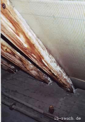 Gut bekannt Ist das weißes Salz an den Sparren im Dachstuhl gefährlich? MF43