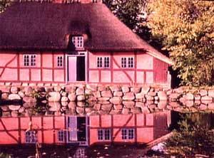 Fachwerkhaus am See