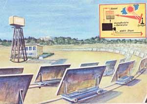 Solaranlage zur Dampferzeugung