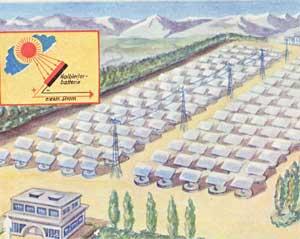 Solaranlage zur Stromerzeugung