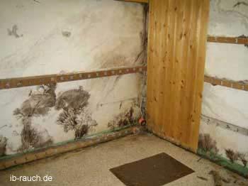 Holzverkleidung im Keller