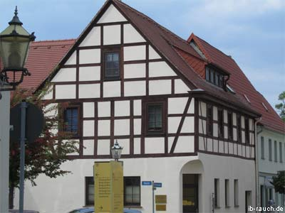 Half-timbered house Bad Dueben