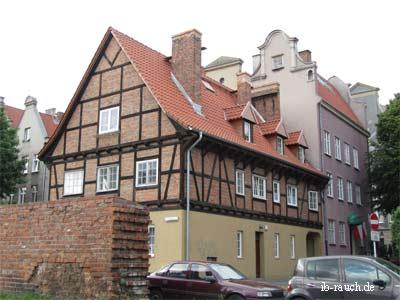 Fachwerkhaus in Danzig