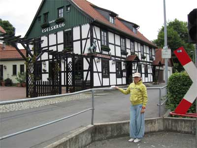 Half-timbered house Wernigerode