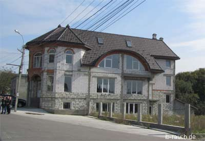 Neuses Haus in Transkarpatien