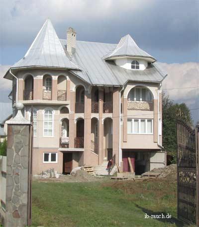Wohnhaus in Transkarpatien