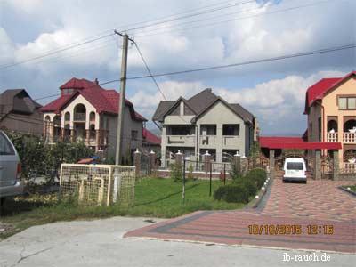 neue Wohngebäude in Transkarpatien