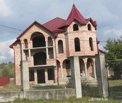 Baustelle Familienhaus
