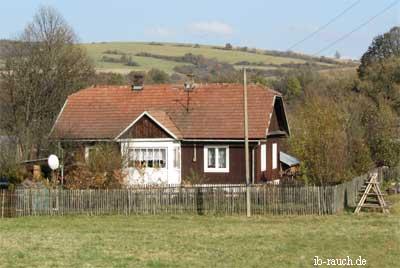 Holzhaus in Ostpolen