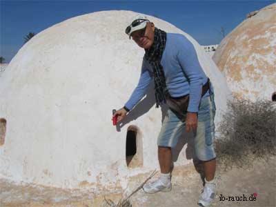 Messerung der Oberflächentemperatur an der Kuppel