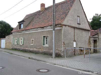 Lehmhaus in Sachsen