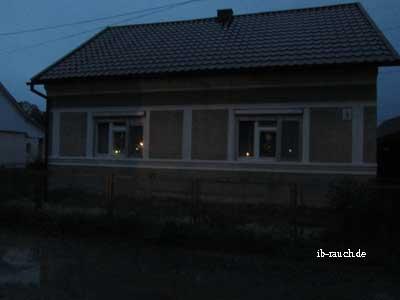 Solarlampen im Fenster