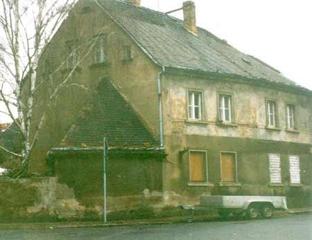 Lehmhaus vor der Sanierung