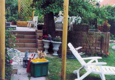 Terrasse nach der Fertigstellung