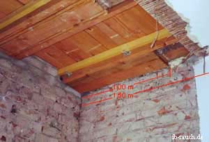 Historischen Holzbalkendecken Der Aufbau Und Ihre Sanierung