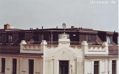 Balkon im Dachgeschoss