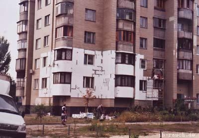 Fassadendämmung in Kiew