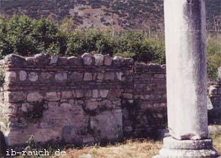 Mauerwerk in Ephesos