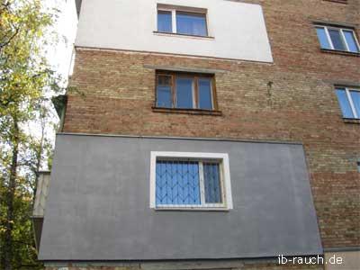 Älteres Wohnhaus in Kiew