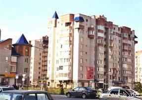 Gestaltung und Bauausführung von Ziegelgebäuden in Vinnitsa
